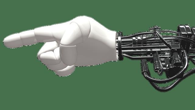 Robotic Hand Graphic