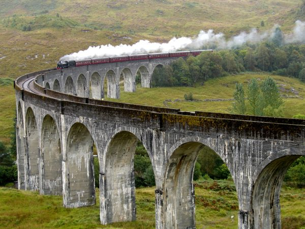 Highlands Train Probably Going to Hogwarts