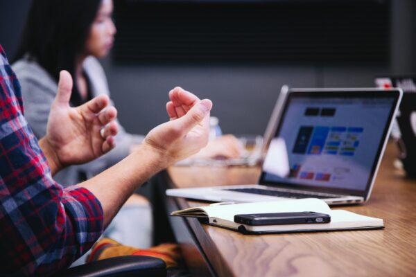 online-interview-hand-gesture